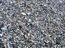 Pebble. Close up of gray pebble Royalty Free Stock Images