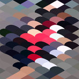 Pebble Abstract Low Polygon Background Stock Photo