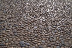 Pebble background. A pebble background with smooth stones Stock Photography
