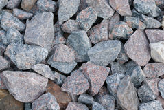 Pebble background. Grey pebble background and texture Stock Photo