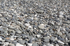 Pebble background. Pebbly beach in New Zealand. Pebble background. Pebbly beach at Tauparikaka Marine Reserve, Haast, New Zealand Royalty Free Stock Image