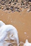 Pebble background Stock Image