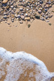 Pebble background Stock Photography
