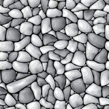 Pebble background seamless Stock Photography