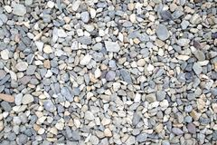 Pebble Background, Small Stones Backdrop. royalty free stock photography