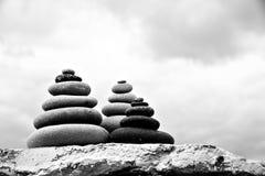 Pebble. Balanced stones Royalty Free Stock Photography