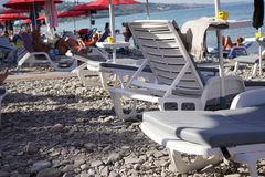 Pebble Beach fotografia stock