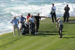 Pebble Beach 2006 pga golf tour Royalty Free Stock Photos