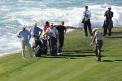 Pebble Beach 2006 pga golf tour royalty free stock photos
