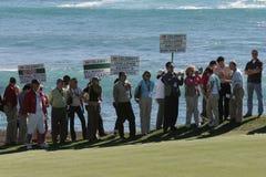 Pebble Beach 2006 pga golf tour Stock Image