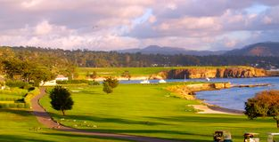 Pebble Beach Stock Image