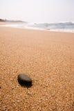 Pebble on the beach Royalty Free Stock Photo