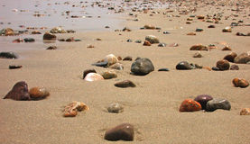 Pebble Beach Stockbild
