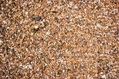 Pebble Beach da costa espanhola fotos de stock