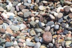 Pebble Beach del mar imagenes de archivo