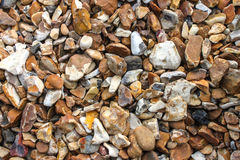 Pebble beach detail Stock Photos