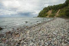 Pebble beach Göhren Stock Photos