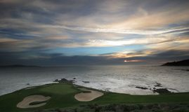 Pebble Beach Golf Course, Ca Stock Photography