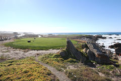Pebble Beach Golf Course Stock Photography