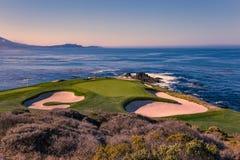 Free Pebble Beach Golf Course, Monterey, California, USA Stock Photo - 124167100