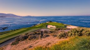 Free Pebble Beach Golf Course, Monterey, California, USA Royalty Free Stock Image - 124167396