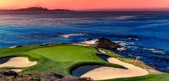 Free Pebble Beach Golf Course, Monterey, California, Usa Royalty Free Stock Photos - 175306708