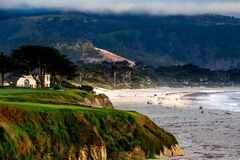 Free Pebble Beach Golf Course, Monterey, California, Usa Royalty Free Stock Photography - 176993717