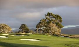 Pebble Beach golf course, Monterey, California, USA Stock Images