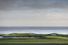 Pebble Beach golf course, Monterey, California, USA Royalty Free Stock Photography