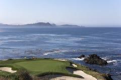 Pebble Beach golf course, Monterey, California, USA Royalty Free Stock Images