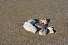 Pebble on the beach Stock Photos