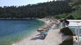 Pebble Beach, islas de Grecia imagen de archivo
