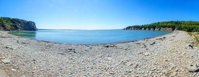 Pebble Beach, Kap erzürnen, New-Brunswick stockbilder