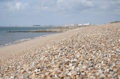 Pebble Beach Kent, England Arkivfoton