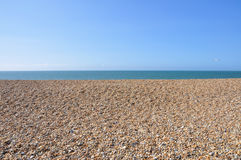 Pebble Beach Kent, England Arkivbild