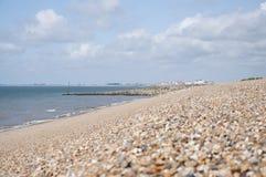 Pebble Beach Kent, England Royaltyfria Bilder