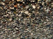 Pebble Beach, la photo au contraire, tourné à l'envers photographie stock libre de droits