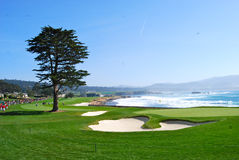 Pebble Beach legendary course Stock Image