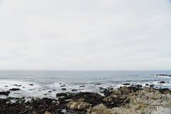 Pebble Beach, 17 Meilen-Antrieb, Kalifornien, USA Lizenzfreies Stockfoto