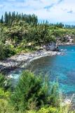 Pebble beach at Mokuleia Bay, Maui, Hawaii Royalty Free Stock Photo