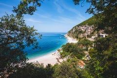 Pebble Beach nahe Perazica tun, Montenegro Stockfoto