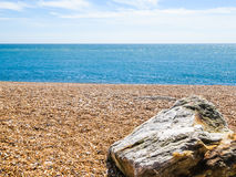 Pebble beach near Eastbourne Stock Images