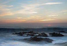 Pebble Beach ou Bean Hollow State Beach, Pescadero, CA photos libres de droits
