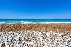 Pebble Beach på Grekland Royaltyfri Fotografi