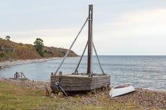 Pebble beach Stock Photo