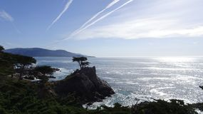 Pebble beach. Sea Royalty Free Stock Photos