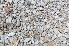 Pebble beach texture Royalty Free Stock Image