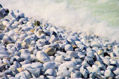 Pebble beach Tuscany Stock Image
