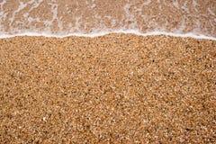 Pebble Beach von der spanischen Küste lizenzfreie stockbilder