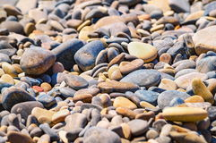 Pebble colorful background Stock Photos